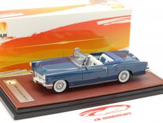 Lincoln Continental MK II Open Top Baujahr 1956 blau 1:43 GLM