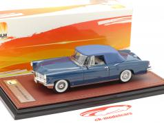 Lincoln Continental MK II Closed Top Baujahr 1956 blau 1:43 GLM