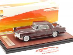 Lincoln Continental MK II année de construction 1956 bordeaux 1:43 GLM