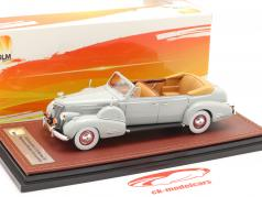 Cadillac V16 Series 90 Fleetwood Sedan Open Top Bouwjaar 1938 grijs 1:43 GLM
