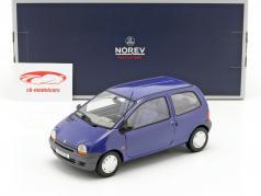 Renault Twingo Bouwjaar 1993 outremer blauw 1:18 Norev