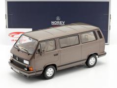 Volkswagen VW Multivan Bouwjaar 1990 bronzen metalen 1:18 Norev
