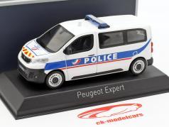 Peugeot Expert Van Police Nationale Baujahr 2016 weiß / blau 1:43 Norev