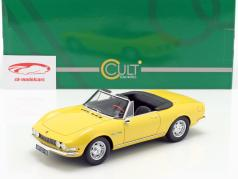 Fiat Dino Spyder ano de construção 1966 amarelo 1:18 Cult Scale