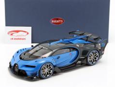 Bugatti Vision GT Opførselsår 2015 Bugatti racing blå / carbon blå 1:18 AUTOart