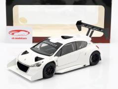 Peugeot 208 T16 Pikes Peak Plain Body Version 2013 white 1:18 AUTOart