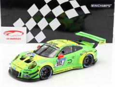 Porsche 911 (991) GT3 R #912 gagnant 24h Nürburgring 2018 Manthey Racing 1:18 Minichamps