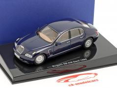 Bugatti EB 118 Geneva motor Show 1999 blue metallic 1:43 AUTOart