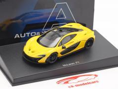 McLaren P1 Année 2013 volcan jaune 1:43 AUTOart