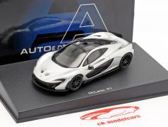 McLaren P1 Jahr 2013 eis silber 1:43 AUTOart