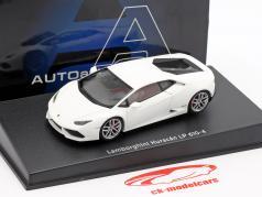 Lamborghini Huracan LP610-4 Ano 2014 esteira branco 1:43 AUTOart
