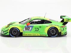 Porsche 911 (991) GT3 R #912 победитель 24h Nürburgring 2018 Manthey Racing 1:18 Minichamps