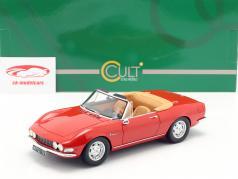 Fiat Dino Spyder Bouwjaar 1966 rood 1:18 Cult Scale