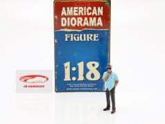 figuur 1 Weekend Car Show 1:18 American Diorama