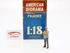 figuur 2 Weekend Car Show 1:18 American Diorama
