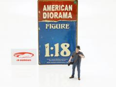 figura 5 Weekend Car Show 1:18 American Diorama