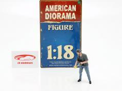 Figur 7 Weekend Car Show 1:18 American Diorama