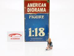 figure B Seated Couple III 1:18 American Diorama