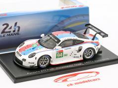 Porsche 911 RSR #94 24h LeMans 2019 Porsche GT Team 1:43 Spark