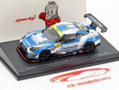 Nissan GT-R Nismo GT3 #35 FIA GT World Cup Macau 2018 Oliver Jarvis 1:64 Spark