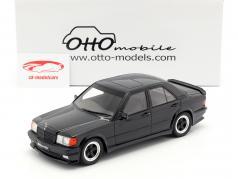 Mercedes-Benz 190E 2.3 AMG año de construcción 1984 negro 1:18 OttOmobile