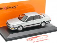 Audi V8 (4C) 築 1988 銀 メタリック 1:43 Minichamps