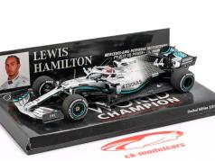 L. Hamilton Mercedes-AMG F1 W10 #44 United States GP World Champion F1 2019 1:43 Minichamps