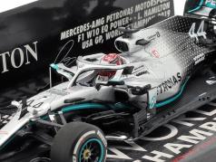 L. Hamilton Mercedes-AMG F1 W10 #44 美国 GP 世界冠军 F1 2019 1:43 Minichamps