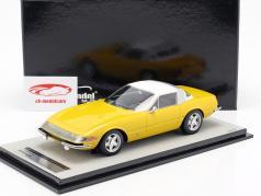 Ferrari 365 GTB/4 Daytona Coupe Speciale 1969 modena yellow 1:18 Tecnomodel