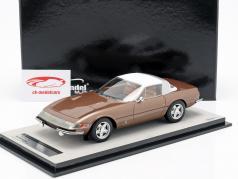 Ferrari 365 GTB/4 Daytona Coupe Speciale 1969 bronze metallic 1:18 Tecnomodel