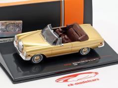 Mercedes-Benz 280 SE 3.5 (W111) año de construcción 1969 oro 1:43 Ixo