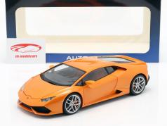 Lamborghini Huracan LP 610-4 Jaar 2014 oranje 1:18 AUTOart