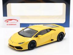 Lamborghini Huracan LP610-4 年 2014 黄色 1:18 AUTOart