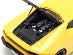 Lamborghini Huracan LP610-4 год 2014 желтый 1:18 AUTOart