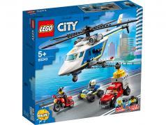 LEGO® City Verfolgungsjagd mit dem Polizeihubschrauber
