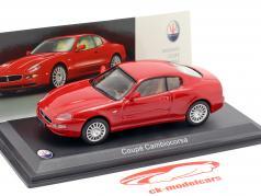Maserati Coupe Cambiocorsa Bouwjaar 2002 rood 1:43 Leo Models