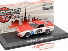 Datsun 240Z BRE #46 1971 Tokyo Torque 1:43 Greenlight
