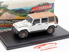 Jeep Wrangler Unlimited Golden Eagle 2018 white 1:43 Greenlight