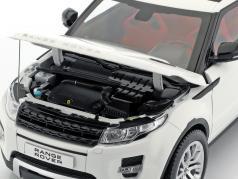 Land Rover Range Rover Evoque Bouwjaar 2011 wit 1:18 Welly GTA
