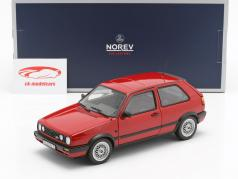 Volkswagen VW Golf GTi Baujahr 1990 rot 1:18 Norev