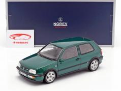 Volkswagen VW Golf III VR6 year 1996 green metallic 1:18 Norev