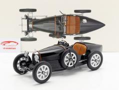 Bugatti T35 建造年份 1925 黑 1:12 Norev
