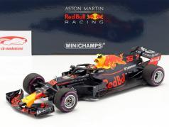 Max Verstappen Red Bull Racing RB14 #33 胜利者 墨西哥人 GP F1 2018 1:18 Minichamps