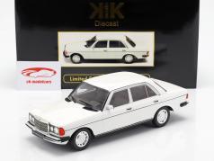 Mercedes-Benz 230E (W123) année de construction 1975 blanc 1:18 KK-Scale