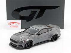 Ford Mustang by LB Works grijs 1:18 GT-Spirit