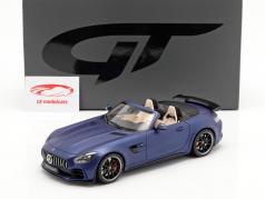 Mercedes-Benz AMG GT-R Roadster 2019 blå metallisk 1:18 GT-Spirit