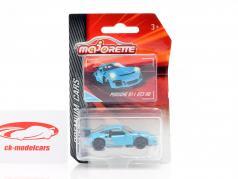 Porsche 911 GT3 RS bleu 1:64 Majorette
