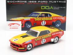 Ford Mustang Boss 302 Trans Am #12 1969 Jim Richards 1:18 Real Art Replicas