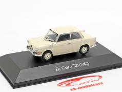 BMW De Carlo 700 year 1960 cream white 1:43 Altaya
