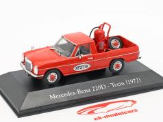 Mercedes-Benz 220D Pick-Up Tecin year 1972 red 1:43 Altaya